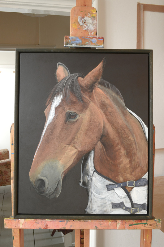 Horse portrait commissions in Gloucestershire by Fourlegs.co.uk